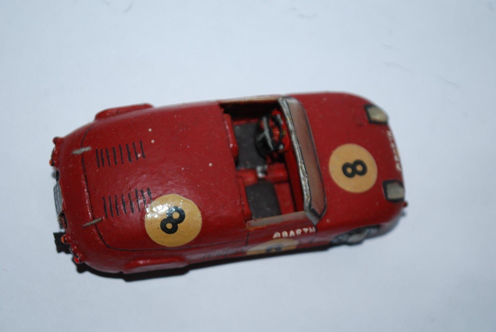 RD MARMANDE MARMANDE MARMANDE FIAT ABARTH 850 SPORT LE MANS 1961 SCALE 1 43 TRES RARE 2a7859