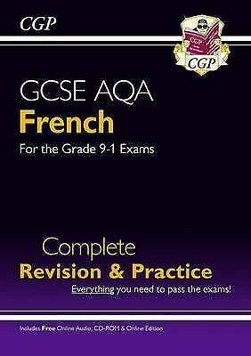 New GCSE French AQA Complete Revision & Practice (with CD & Online Edition) - Gr