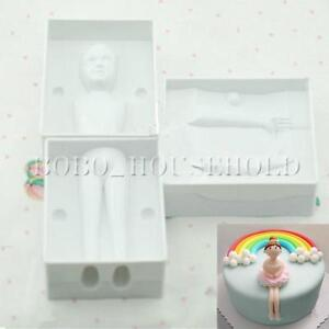 3D Woman Girl Baby People Body Cake Decorating Mould ...