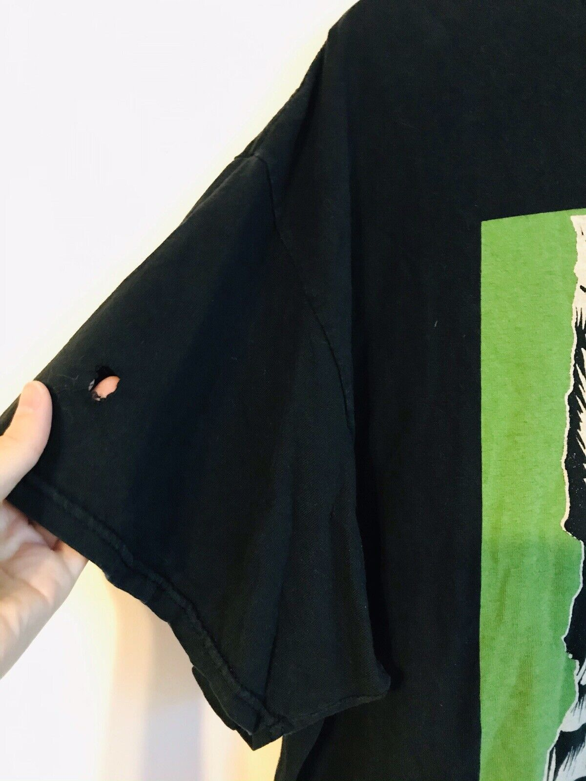 The Clash 3XL Distressed T Shirt not cd - image 2