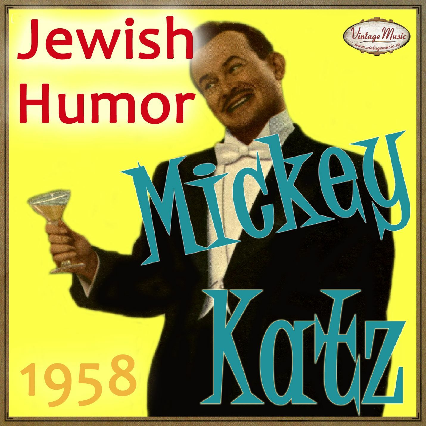 Mickey Katz - MICKEY KATZ CD Vintage Vocal Jazz. Jewish Humor , Hey Jealous Lover , Tico Tico - CD