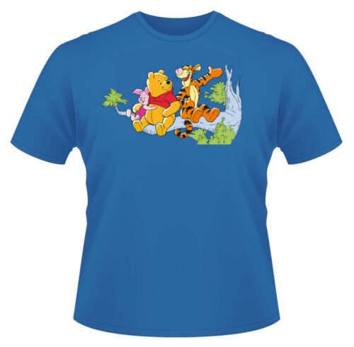 Winnie The Pooh In Tree T-Shirt Boys Girls Kids Age 3-15 Ideal Gift//Present
