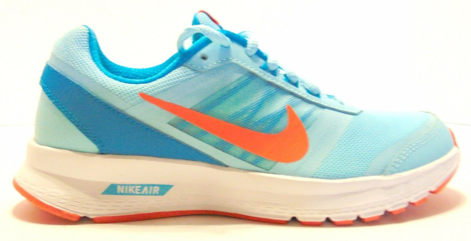 Nike air implacabile 5 donne scarpe da corsa copa / iper - arancio / blu / bianco