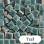 thumbnail 30 - Tiny Ceramic Mosaic Tiles For Crafts Square Porcelain Art Pieces Hobbies 50pcs