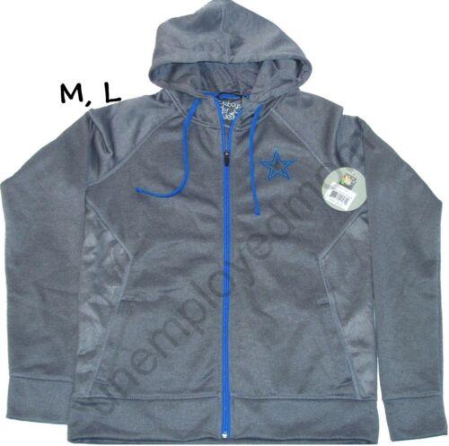 Dallas Cowboys Hoodie Jacket Womens Full Zip Diamond Field Hoody Ladies Coat