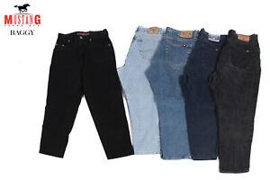 Vintage Mustang Taille Haute Baggy Mom Jeans Grade A-afficher Le Titre D'origine Clair Et Distinctif