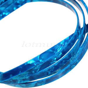 5-Pcs-Blue-Pearl-5-Feet-Celluloid-Guitar-Binding-Purfling-6mm-Wide