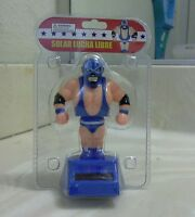 Solar Power Dancing Wrestling Lucha Libre (with Blue Outfit)..(●_●).(●_●).