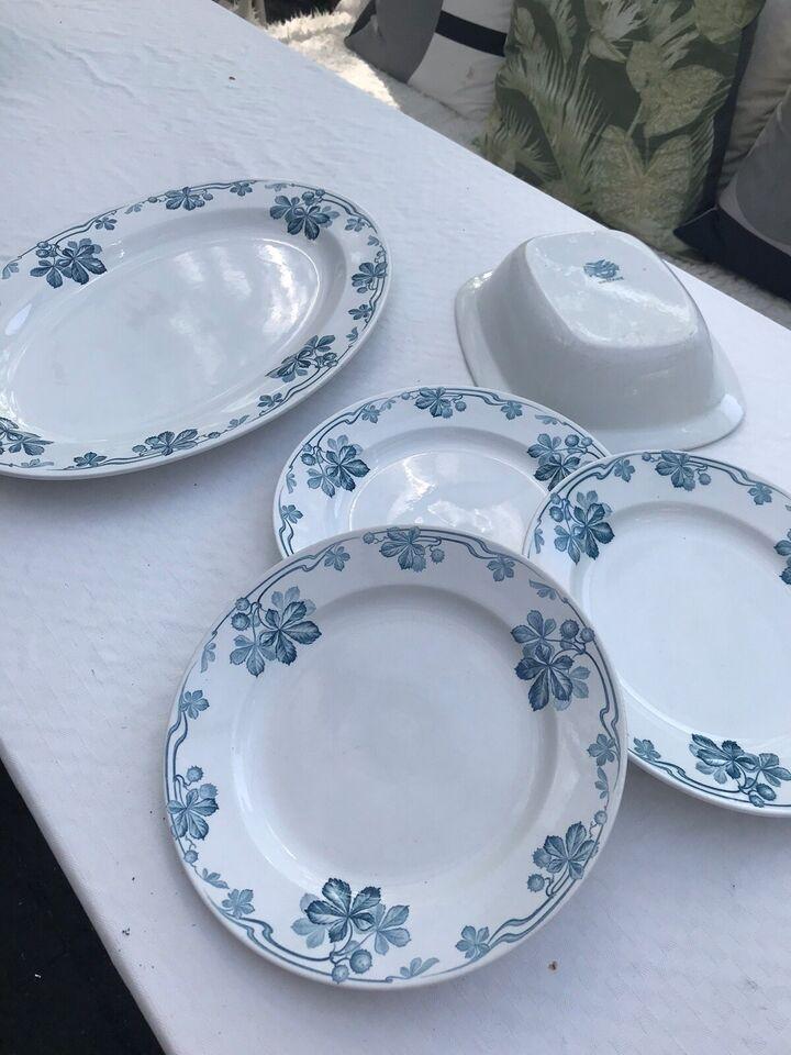 Porcelæn, Fad skål og tallerkner, Villeroy og Boch