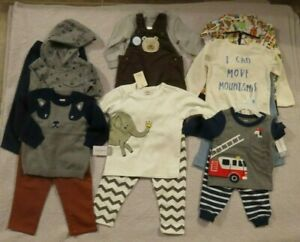NEW-Baby-Toddler-Boys-2-Piece-Outfits-6-12-18-18-18-24-24-mo-Clothing-Sets-NWT