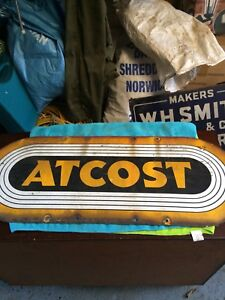 Atcost Enamelled Advertising Sign 1