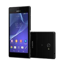 Sony Xperia M2 Aqua D2403 Black Android LTE WiFi 8GB Schwarz Ohne Simlock NEU