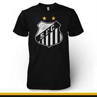 Santos Brasil Futebol Futbol Soccer T Shirt Jersey Camisa Peixe Brazil Pele
