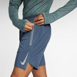 Mens Nike Flex Swift Running Short Blue
