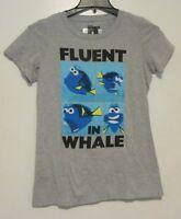 Disney Finding Dory Fluent In Whale T-shirt Jr. Size M Medium