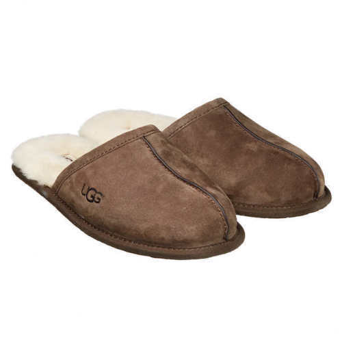 de178ee8ea54 UGG Australia Mens Scuff Slippers Shoes 5776 Espresso Suede Sz 8-13 13 for  sale online