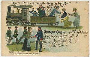 Homeward-Bound-Soldiers-1907-Strassburg-Imperial-German-Army-Postcard-2003