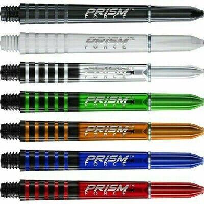 "5X3 Winmau /""Prism Force/"" Orange,Medium Dart Stems//Shafts 48mm,2ba 5 Sets"
