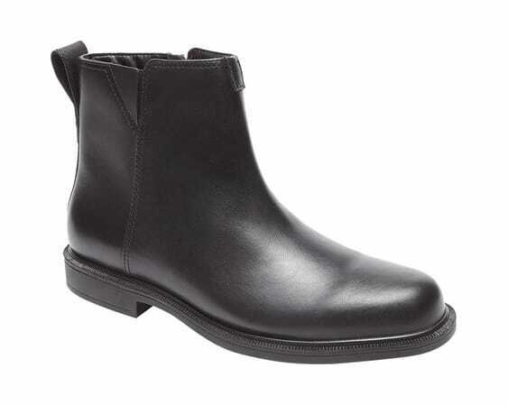 Dunham Men's James-DUN Waterproof Ankle Boot Black Leather Waterproof