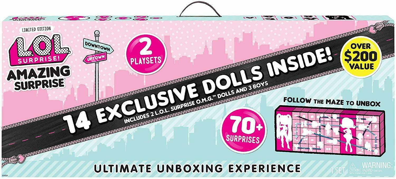 LOL Surprise Amazing Surprise With 14 Dolls 70+ Surprises 4hr FLASH SALE
