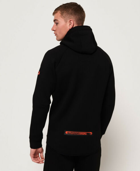 Superdry Herren Gym Tech Stretchhoodie