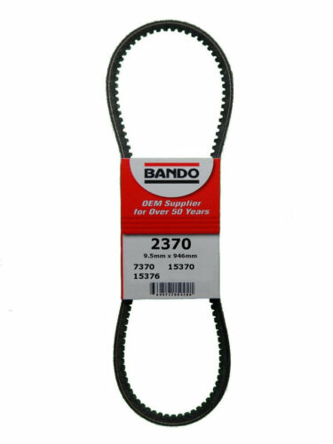 Accessory Drive Belt-RPF Precision Engineered Raw Edge Cogged V-Belt Bando 2370
