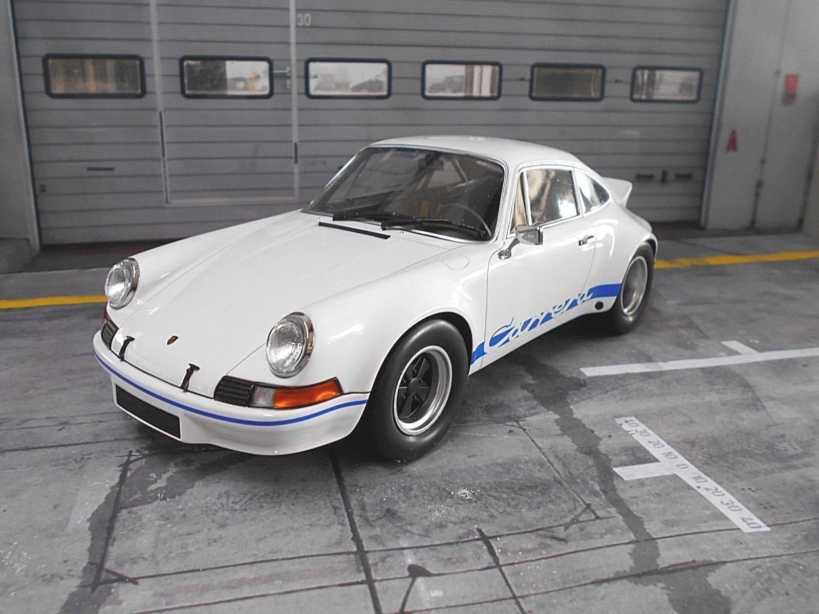 Porsche 911 Cocherera Sr 2.8 2.8 2.8 breitbau 2.7 Weiss campeón blancoo de mini - campeones RA 1  18 cf2