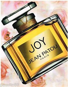 PUBLICITE ADVERTISING 105  2002   JEAN PATOU  parfum JOY