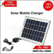 Universal Solar Mobile Charger Travel Camping