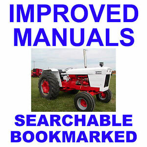 IH-International-1390-1394-Tractor-REPAIR-SERVICE-SHOP-MANUAL-SEARCHABLE-on-CD
