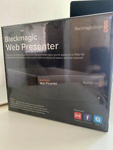 Blackmagic Design Web Presenter New In Box Shipped From Usa Ebay