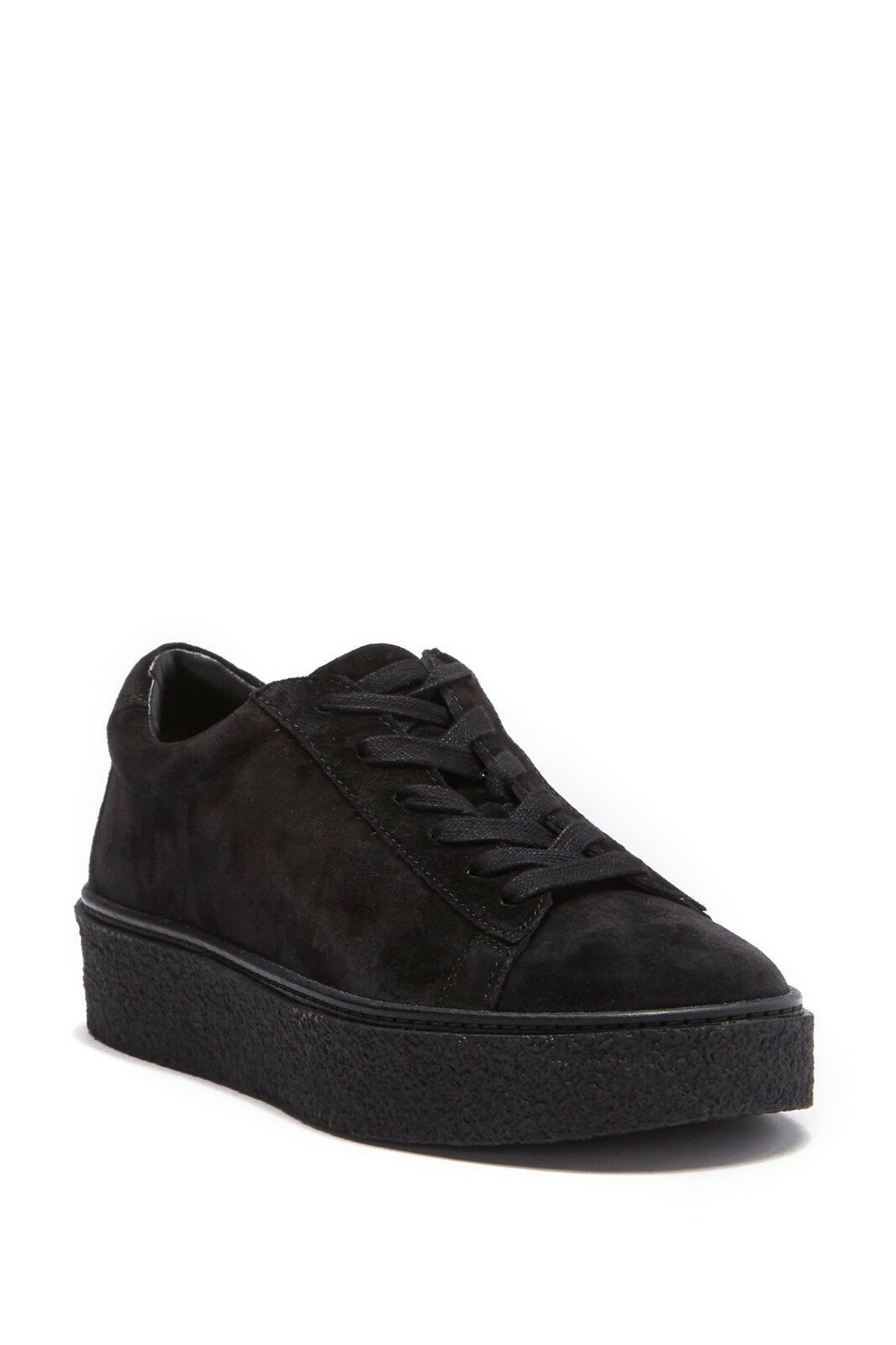 NEW NEW NEW Vince Neela Lace-up Platform Sneakers, Black Suede,  Women Size 6.5,  295 346a54