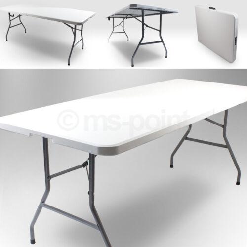 Camping Tisch Terrasse Klapptisch 180 Gartentisch Tisch klappbar für 6 Personen