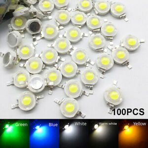 50X 100X SMD Diodes Chip LED COB Chip High Power Wholesale 3W