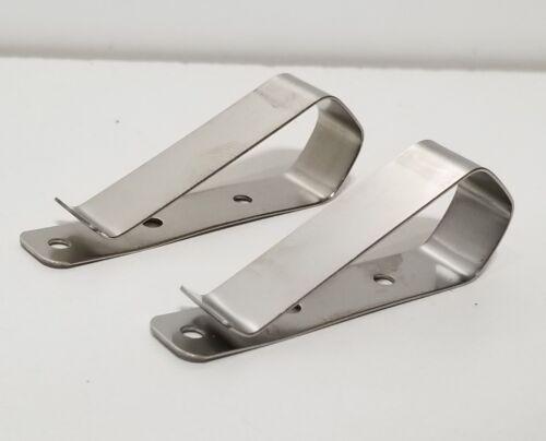 2x Universal Garage Door Opener Remote Visor Clip Craftsman Chamberlain Genie