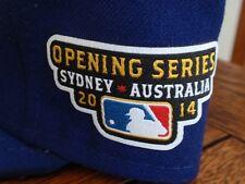 New 2014 Los Angeles Dodgers OPENING DAY SYDNEY AUSTRALIA New Era Hat 7 1/8