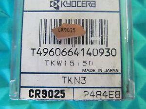 10 PC KYOCERA TKN3-JTS CR9025 CARBIDE INSERTS NEW PICTURE #10374
