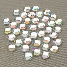 1000 Resin Rhinestones Crystal Flat Back Acrylic Gems Nail Art Craft Scrapbook