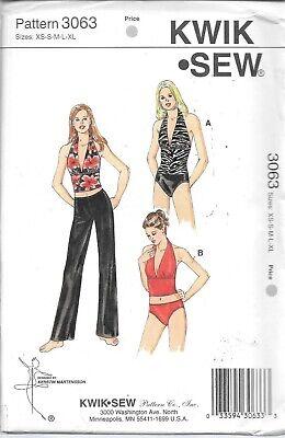 KwikSew-... Kwik Sew Ladies Sewing Pattern 3443 Sportswear Gym /& Yoga Pants