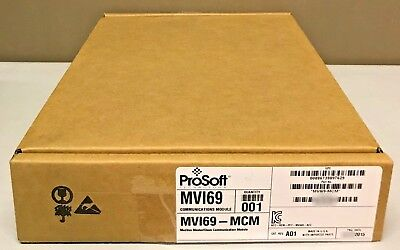 New Sealed Prosoft Technology Mvi69-mcm Mvi69 Modbus Master/slave Communication Chinese Smaken Bezitten