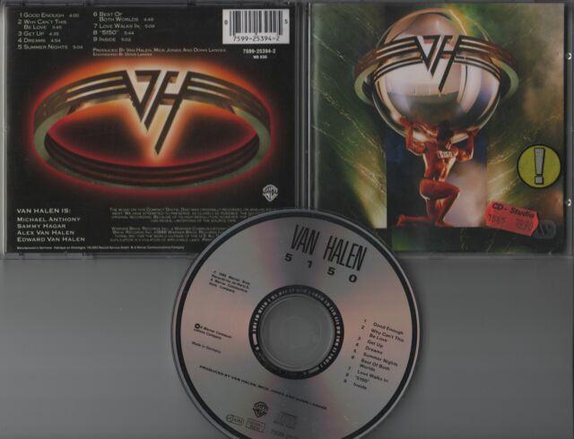 Van Halen CD 5150  (c)  1986