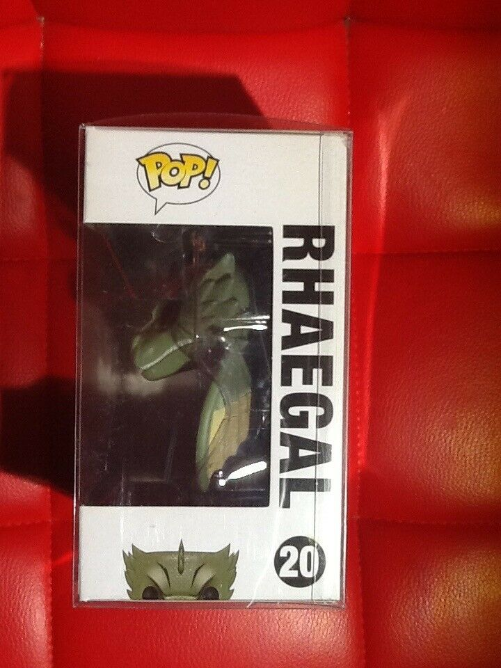 Funko pop Rhaegal with with with Hard case a23279