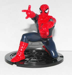 Spider-man Crouched MARVEL ULTIMATE SPIDER-MAN Collection of Figures Spiderman