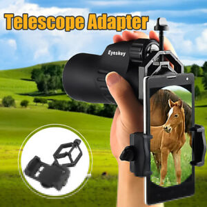 USA-Mobile-Cell-Phone-Cell-Camera-Adapter-Telescope-Spotting-Scope-Mount-Holder
