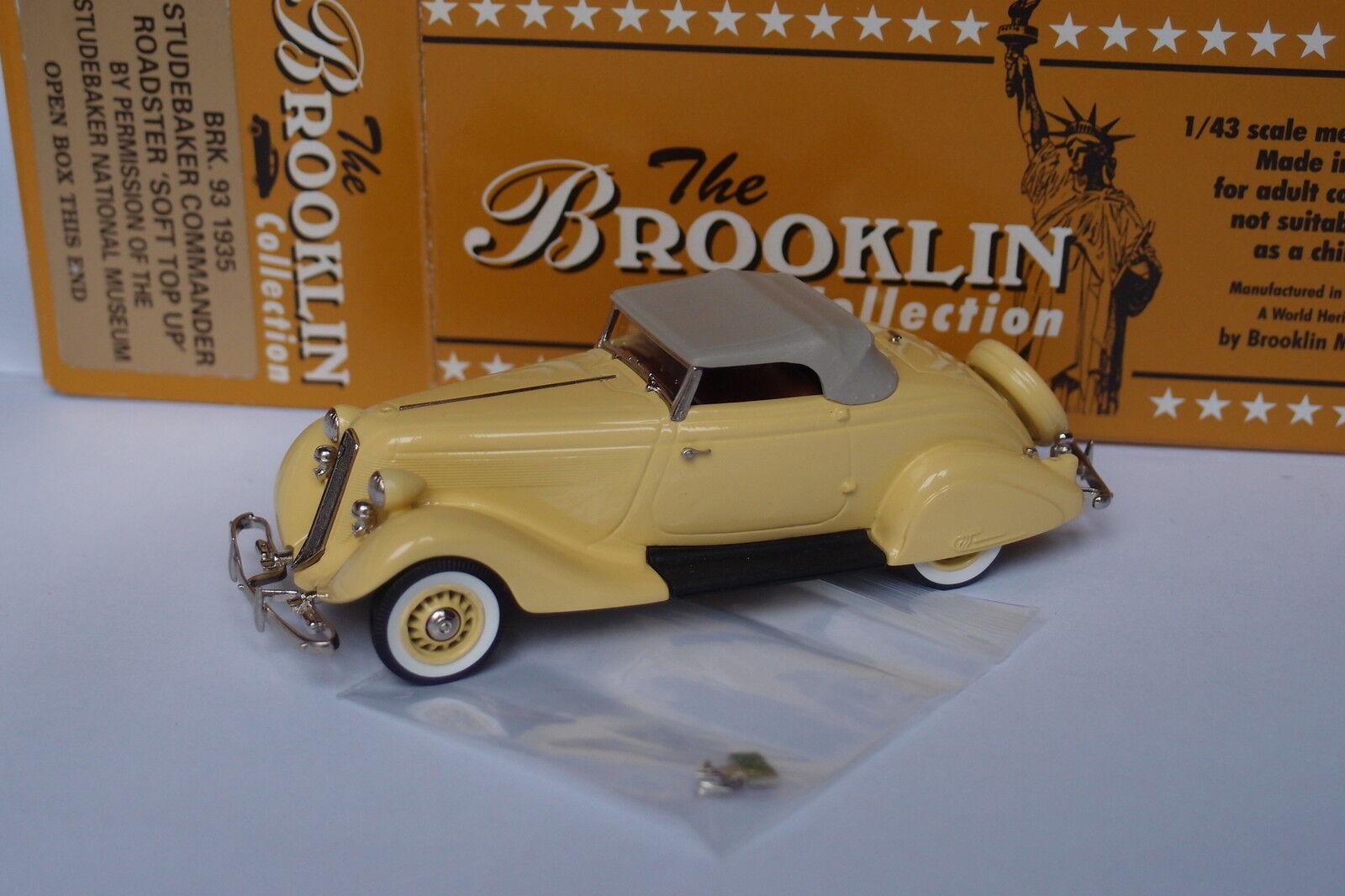 Brooklin brk - 93 1935 studebaker - roadster - Grünck bis 1   43