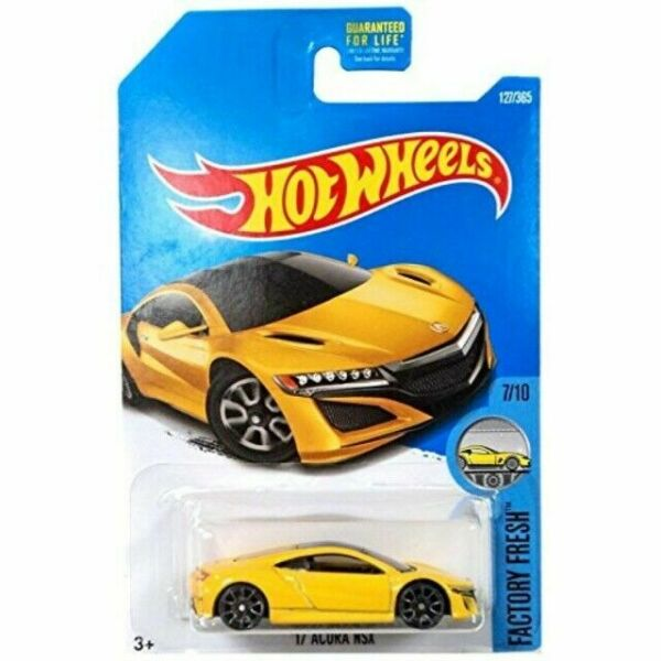 Hot Wheels 2017 Factory Fresh Series #127 '17 Acura NSX