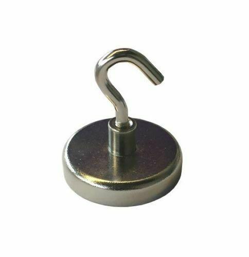 Magnethaken Magnet Neodym Neodymmagnet Büro Pinwand Küche Bad WC Kühlschrank