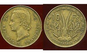 AFRIQUE-OCCIDENTALE-FRANCAISE-10-francs-1956-ANM