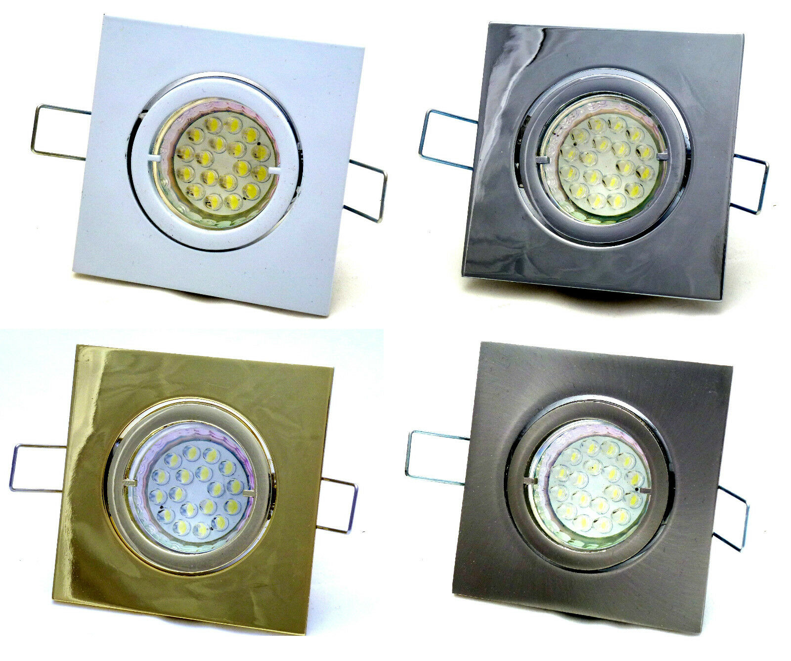 Strahlerlampe Louis 230V 20 LED 1,5WATT=20watt LAMPADA GU10