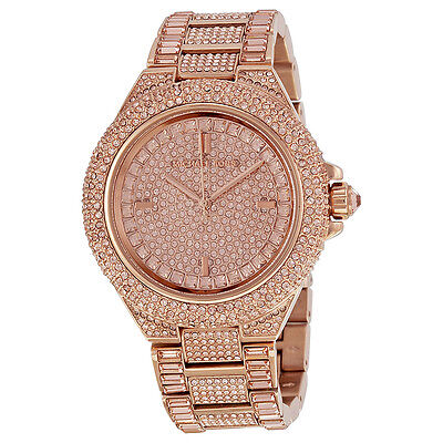 Michael Kors Camille Rose Dial Rose Gold-tone Ladies Watch MK5862